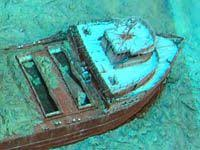 the wreck of the edmund fitzgerald resting place from the