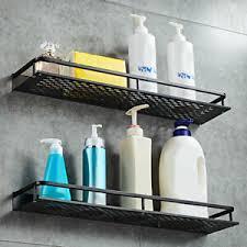 2er wandregal badregal duschablage ohne bohren küche bad