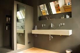 fugenlose bäder in wasserfestem putz modern badezimmer