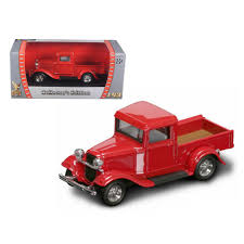 100 Cars Trucks Ebay New 1934 Ford Pickup Truck Red 143 Diecast Model Car By Road