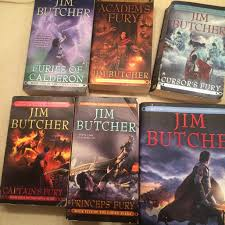 Codex Alera Series Complete Set 6 Book Collection By Jim Butcher Volumes 1 Furies Of Calderon Academs Fury Cursors Captains