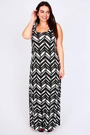size maxi dresses black white boutique prom dresses