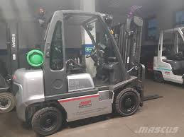 Used Nissan U1D2A25LQ DX25 LPG Forklifts Year: 2012 Price: $12,422 ...
