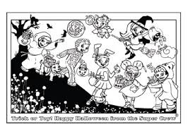 Halloween Coloring Page Age Level Family Fun