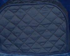 Quilted Navy Kitchen Covers Toaster Made To Order SEND YOUR MEASUREMENTS