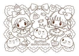 Mofu Coloring Pages Kawaii