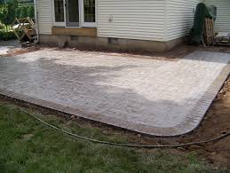 Stone Texture: Best Sealer For Stamped Concrete Patio | Pavers Vs ... Stone Texture Stamped Concrete Patio Poured Stamped Concrete Patio Coming Off Of A Simple Deck Just Needs Fresh Finest Cost Of A Stained 4952 Best In Style Driveway Driveways And Patios Amazing Walmart Fniture With To Pour Backyards Cement Backyard Ideas Pictures Pergola Awesome Old Home Design And Beauteous Dawndalto Decor Different Outstanding Polished Designs For Wm Pics On Mesmerizing
