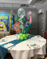 Romans2ndbirthday | Spongebob Party Ideas In 2019 | Table ...