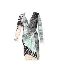 diane von furstenberg valencia rockscape print silk wrap dress
