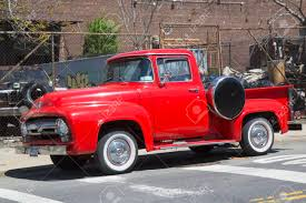 BROOKLYN, NEW YORK - MAY 6, 2014: 1956 Ford Pickup Truck In Brooklyn ... 4clt01o1956fordf100piuptruckcustomfrontbumper Hot 132897 1956 Ford F100 Rk Motors Classic And Performance Cars For Sale The Next Big Thing 31956 Motor Trend Effin Confused 427powered Protouring Pickup Truck Stock 56f100 Sale Near Sarasota Fl Denver Colorado 80216 Classics On Gateway 132den Fast Lane Rod Colins Auto Pick Up Pepsi Round2 U13122 Columbus Oh