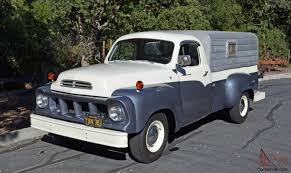 1958 STUDEBAKER Transtar PICKUP TRUCK W/ Camper 1951 Studebaker 2r5 Pickup Fantomworks 1954 3r Pick Up Small Block Chevy Youtube Vintage Truck Stock Photos For Sale Classiccarscom Cc975112 1947 Studebaker M5 12 Ton Pickup 1952 1953 1955 Car Truck Packard Nos Delco 3r5 Chop Top Build Project Champion Wikipedia Dodge Wiki Luxurious Image Gallery Gear Head Tuesday Daves Stewdebakker 56