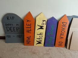 Diy Halloween Tombstones Cardboard by Cardboard Tombstones Pincringe