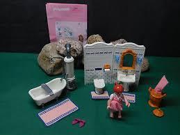 playmobil nostalgie rosa puppenhaus 1900 5324 bad ohne