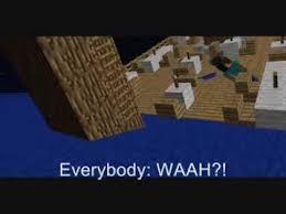 sinking ship minecraft animation youtube