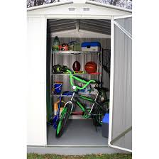 Arrow Shed Door Assembly by Ezee Shed 6 X 5 Ft Storage Shed In Cream Sheds