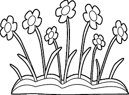 Spring Flowers Coloring Pages Free Printable