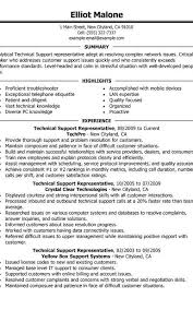 Technical Support Resume Examples Created By Pros Myperfectresume