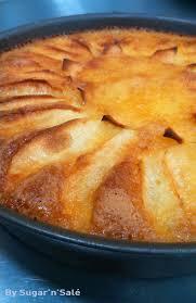 gâteau moelleux et fondant aux pommes très facile à faire sugar