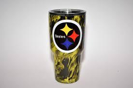 Steelers Pumpkin Carving Patterns Free by Custom Personalized Pittsburgh Steelers Yeti Steelers Cup