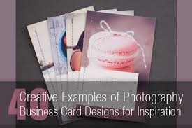 40 Creative Photography Business Card Designs For Inspiration