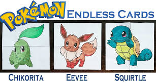 Hattifant Pokemon Evolution Endless Neverending Cards Papercraft Printable