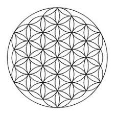 A visual description of how to draw the Flower of Life and beyond