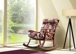 Padded Rocking Chair Made Of Wood, Country Style | IDFdesign Hampton Bay Statesville Padded Sling Swivel Patio Ding Chair 2 Beautiful Idea Wooden Child Rocking Living Room Fniture Detective Glider Rocker With 1888 Patent Is Valued At Vintage Painted Childs Rocker Red Ebay Outdoor Interiors Lowes Canada Pick Right Design Dessains 85749 Personalised Wedding Reserved Seat Memorial Gift Pretty A Baby Laik White Buy Online Best Price Ikea Poang Review Chairs Bedroom Enjoying Completed With Cozy Tortuga Oak Lowescom