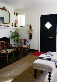 DM Living Room Front Door And Fireplace