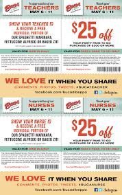Nurses And Teachers Enjoy Free Pasta This Week At Buca Di Beppo ... Buca Di Beppo Printable Coupon 99 Images In Collection Page 1 Expired Swych Save 10 On Shutterfly Gift Card With Promo Code Di Bucadibeppo Twitter Lyft Will Help You Savvily Safely Support Cbj 614now Roseville Visit Placer Coupons Subway Print Discount Buca Beppo Printable Coupon 2017 Printall 34 Tax Day 2016 Deals Discounts And Freebies Huffpost National Pasta Freebies Deals From Carrabbas