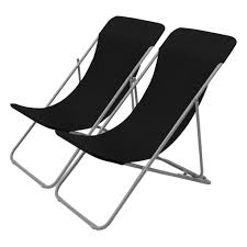 Details About 2pcs Outdoor Folding Beach Chairs Portable Foldable Picnic  Fold Up Camping