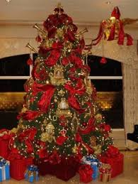 Traditional Christmas Tree Exquisite Professional Decor By Nicholas