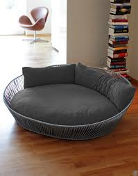XL Dog Beds Round Restful Sleep in a fortable XL Dog Beds
