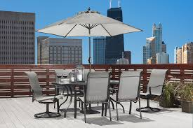 Kmart Patio Table Umbrellas by Hinton 6pc Dining Chair Set Class Up Your Patio At Kmart