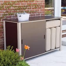 bar furniture patio storage box new garden outdoor plastic