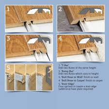 Types Of Transition Strips For Laminate Flooring by Door Transition Plate U0026 How To Install Carpet Threshold