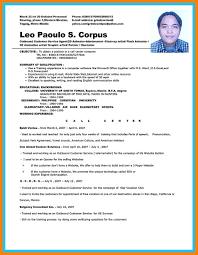Call Center Resumes Samplescall Associate Resume Sample