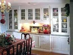 Lovely Design Ideas Built In China Cabinet Dining Room Designs Vision For