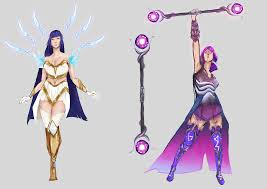 100 Star Lux Shardmaster Irelia And Dark Fan Skins LoLFanArt