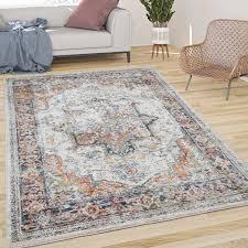 teppich schlafzimmer muster orientalisch bordüre