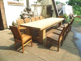 Great Best Scheme The 25 Rustic Outdoor Dining Furniture Ideas On With Table Prepare