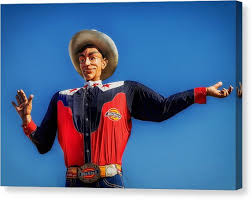 Big Tex Canvas Print