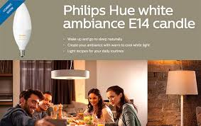 philips announces new hue e14 candle smart bulb here are the