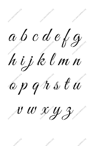 Using An Alphabet Die To Create A Stencil For Fancy Lettering YouTube