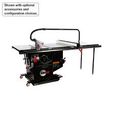 sawstop ics51230 52 5 hp 230v 60 hz cabinet saw with 52 inch