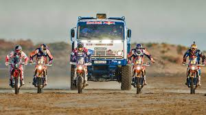 100 Redbull Truck Watch The Awesome AllVehicle OffRoad Show Only Red Bull Could Pull Off