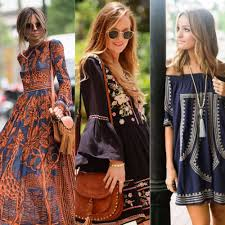 Go Boho Chic With Bohemian Style Dresses