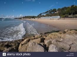 100 Canford Cliffs Sandy Beach At Near Bournemouth Poole Bay Dorset
