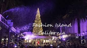 Tree Lighting Ceremony Fashion Island 2016