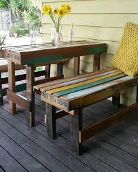 Plans For Pallet Patio Furniture by 22 Cheap U0026 Easy Pallet Outdoor Furniture Diy To Make