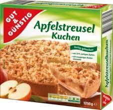 apfel streuselkuchen 1250 gramm desserts gefroren